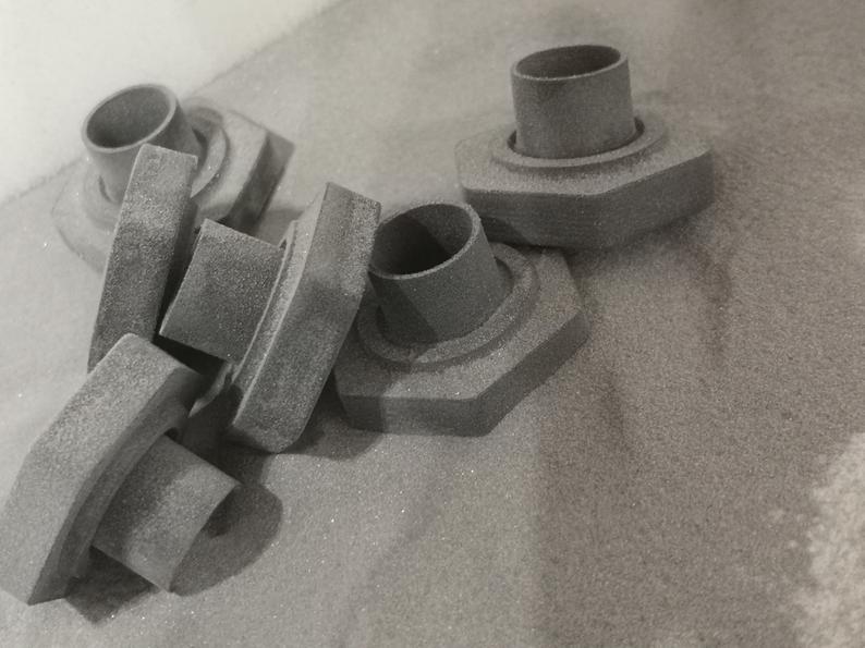 Sandstrahlen Sinterit Lisa SLS 3D Druck Adapter SLS3D