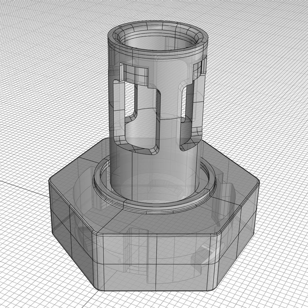 iterations Adapter CAD SLS3D